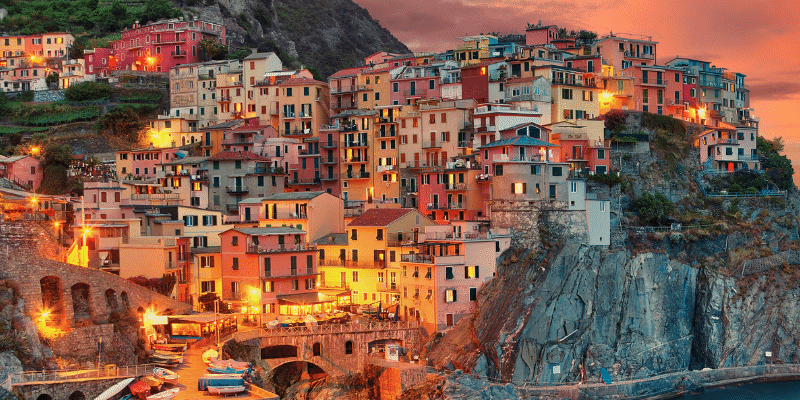 Cinque Terre in Norditalien