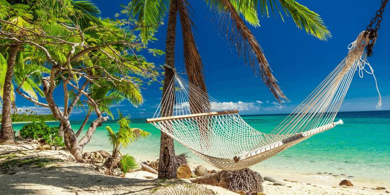 Inselstaaten im Pazifik Urlaub am Strand